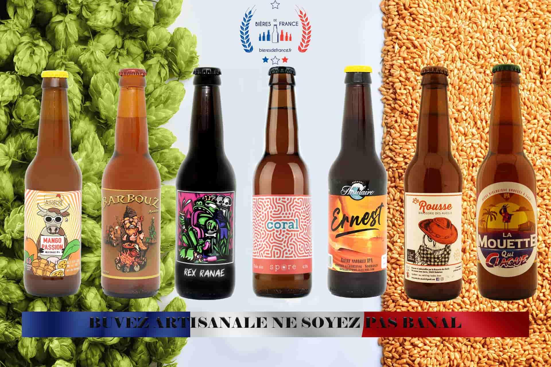 Ne soyez pas banal, avec les gammes artisanales de Bières de France